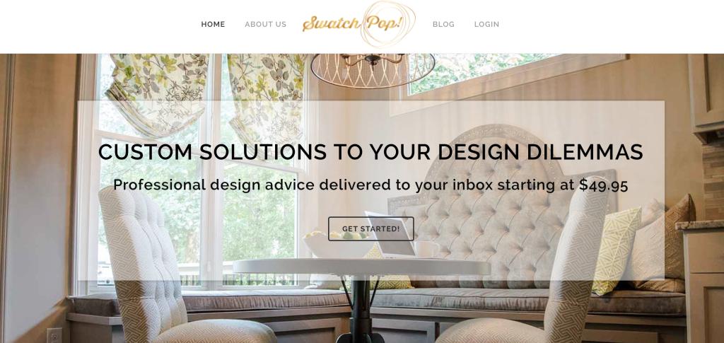 Swatchpop online design service erin spain for Cheap interior design services