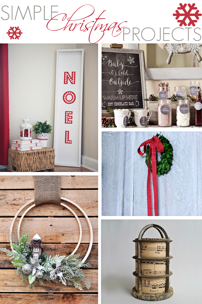 Simple Christmas Projects + MM&J Link Party {83}