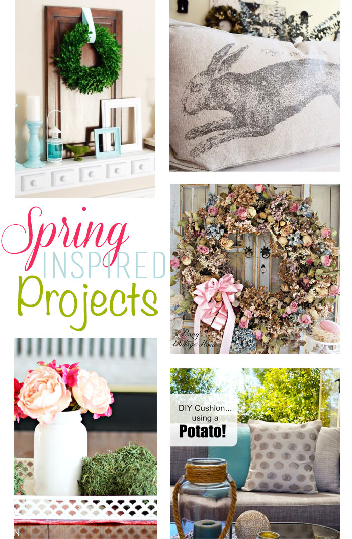 Spring Inspired Projects + M&MJ {95}