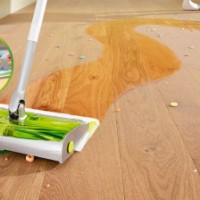 Embrace life's little messes with Swiffer Sweep & Trap!