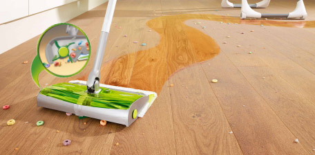 Embrace life's little messes with Swiffer Sweep & Trap! - Embrace Life's Little Messes: Swiffer Sweep & Trap - Erin Spain