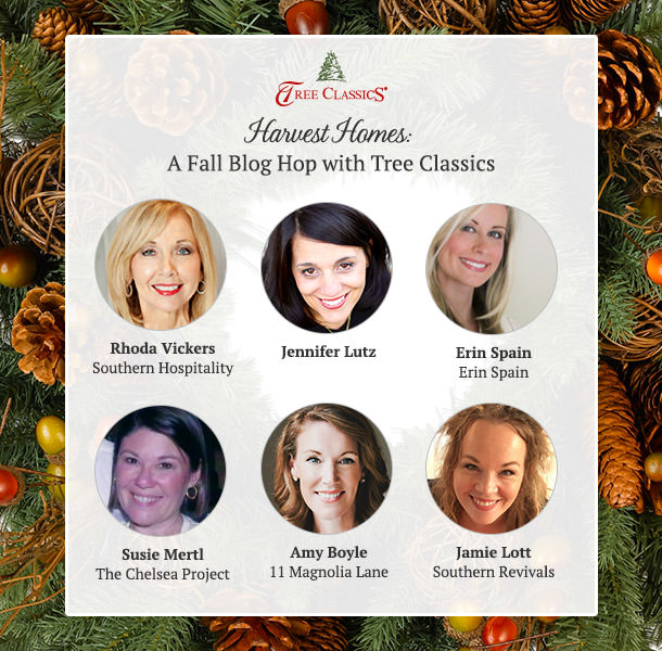 Check out this Tree Classics Harvest Homes Fall Wreath Blog Hop!