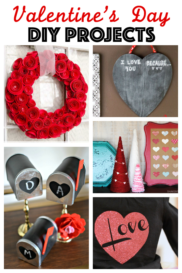 5 Valentine's Day DIY Projects + MM&J {89}