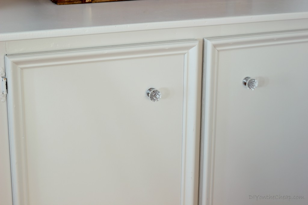 Give your cabinets a quick face lift by replacing the hardware!