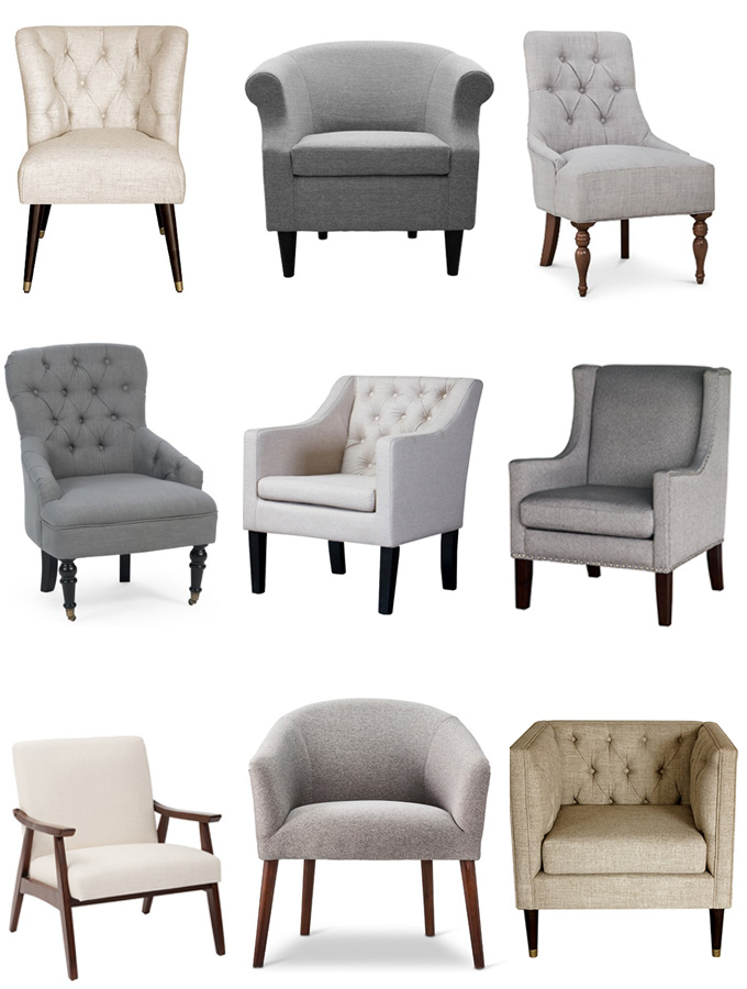 The Best Sources for Affordable Neutral Accent Chairs