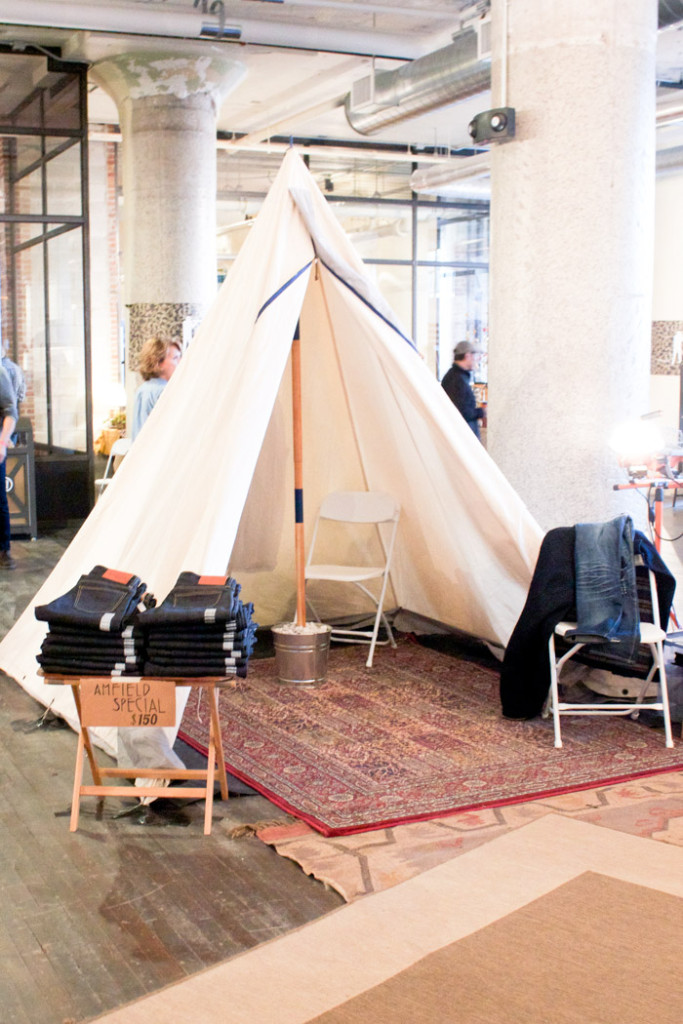 Shopping at the American Field Pop-Up Market at Ponce City Market in Atlanta.