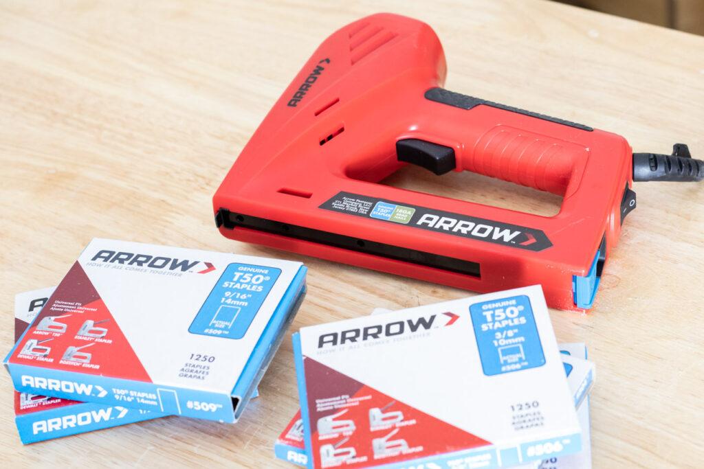 Arrow T50ACN Electric Stapler and Nailer