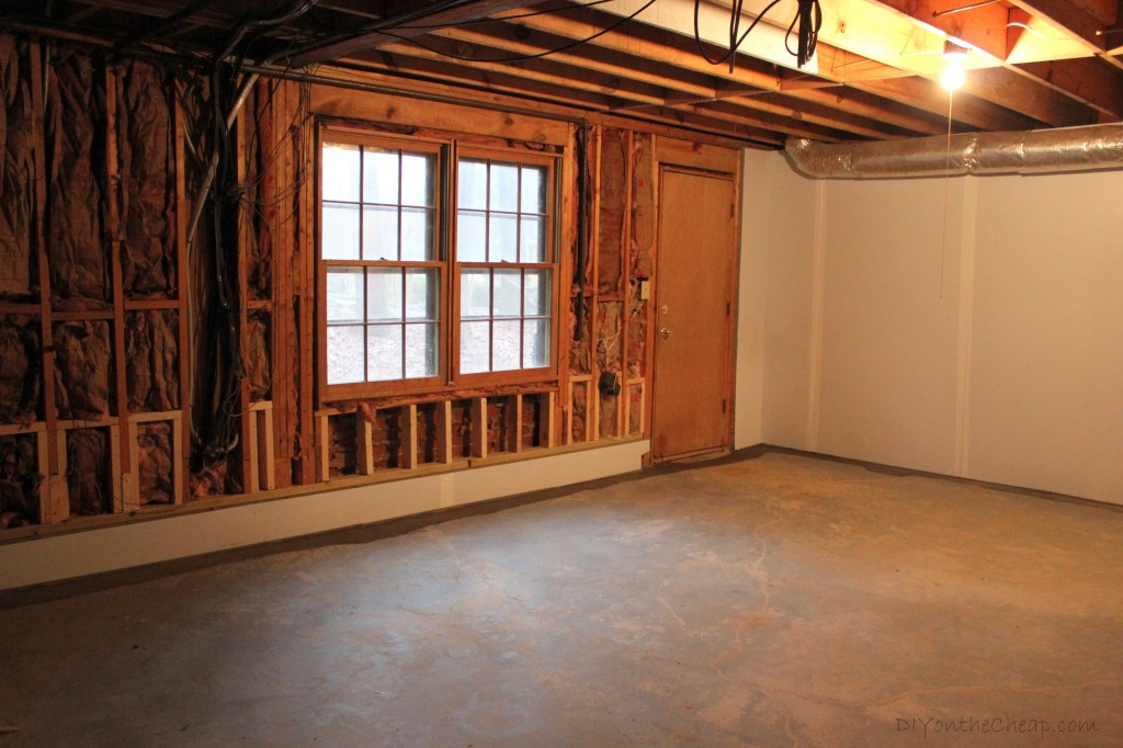 Our basement waterproofing adventure. Read this if you have a basement!