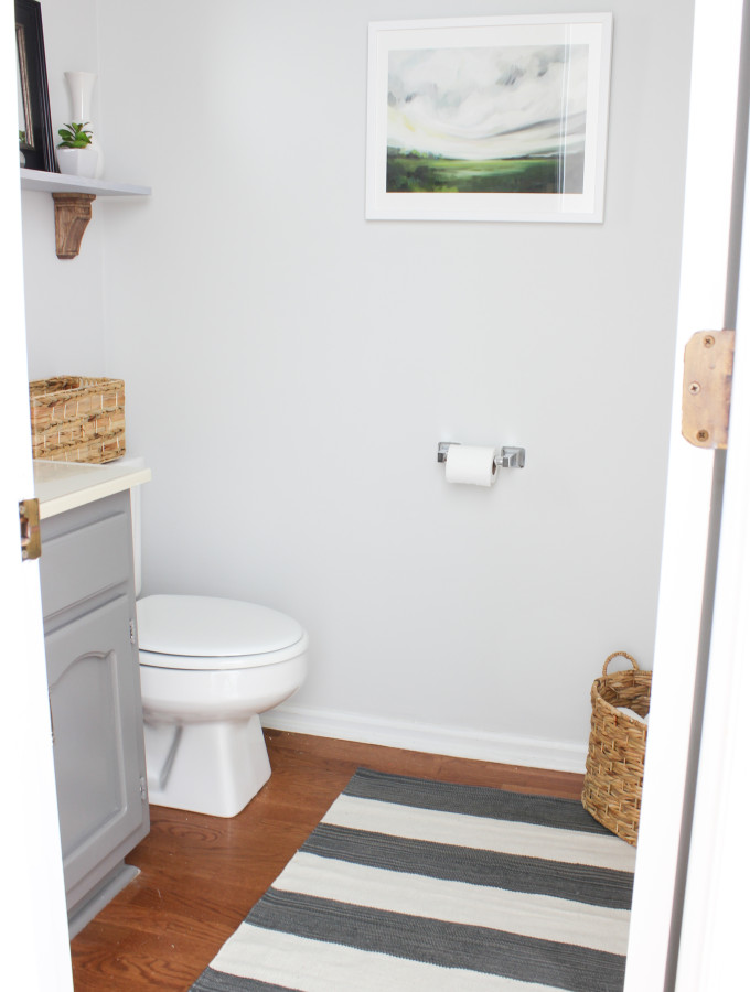 Bathroom Makeover {On a Budget}: Before & After