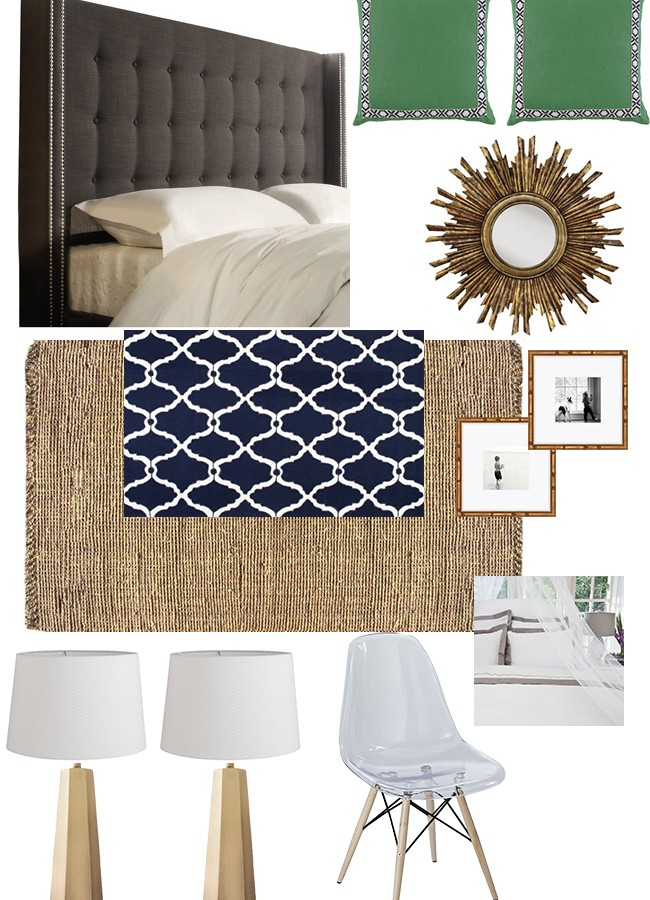 One Room Challenge Week 1: Master Bedroom Makeover Plans