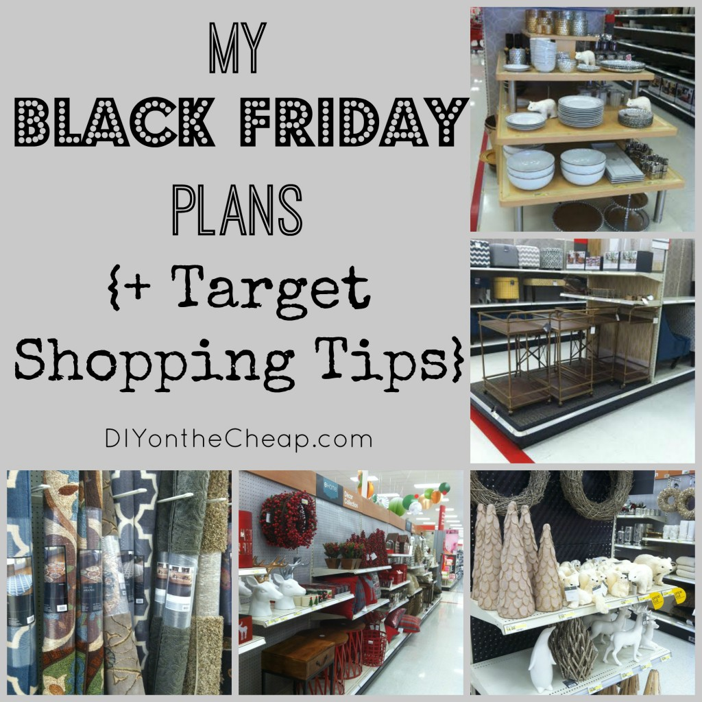 Shopping at Target on Black Friday? Check out these tips + sales! #MyKindOfHoliday