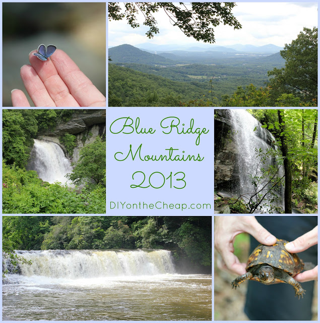 DIY on the Cheap: 2013 Year In Review - Trip to the Blue Ridge Mountains
