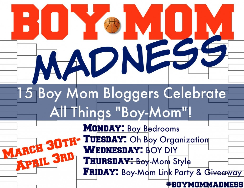 Boy Mom Madness Series: Boys' Bedrooms