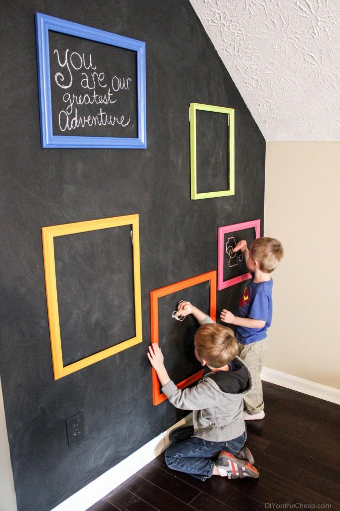boys-chalkboard-gallery-wall-5-682x1024