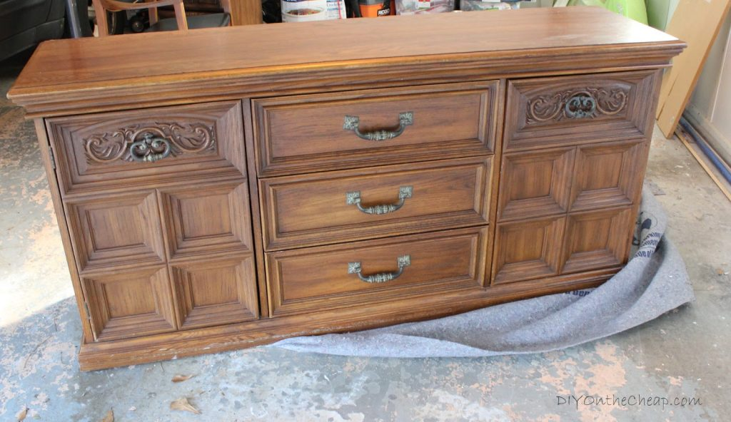 Get DIY decorating tips from blogger Erin Spain, and see how she made over this Craigslist dresser!