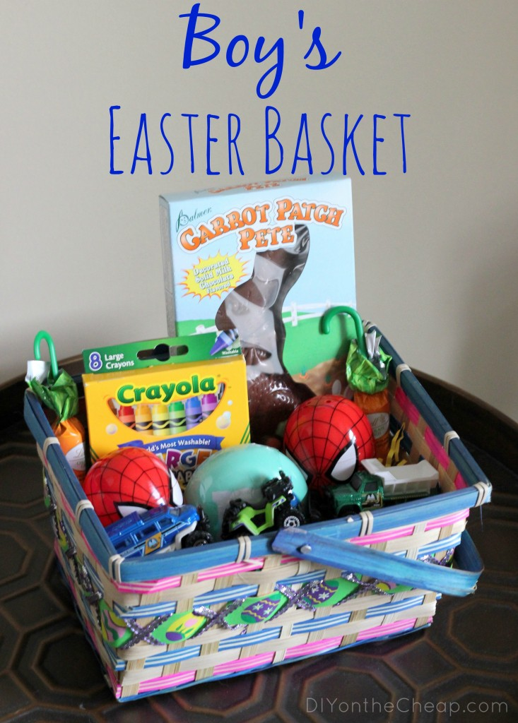 Easter Baskets Ideas For Boys