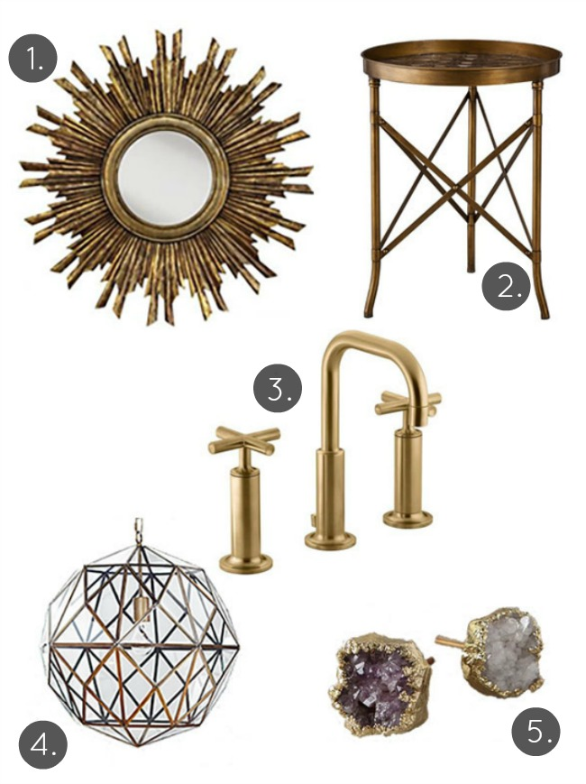 Inspired by Brass: How to Get the Look