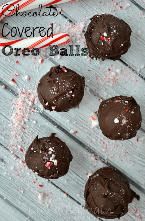 Chocolate Covered Oreo Balls from Luv a Bargain