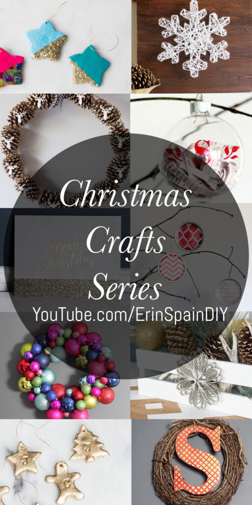 Christmas Crafts Series on YouTube!