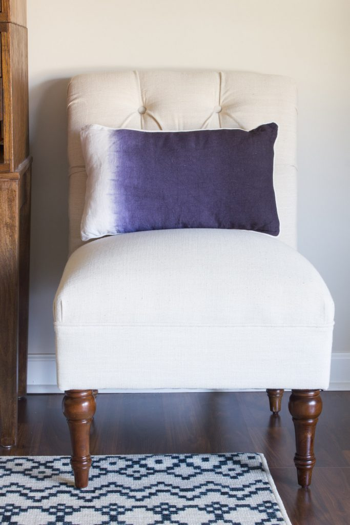 Loving this Sumatra Indigo decorative pillow from Christy Linens! The dip dyed look is modern and beautiful.
