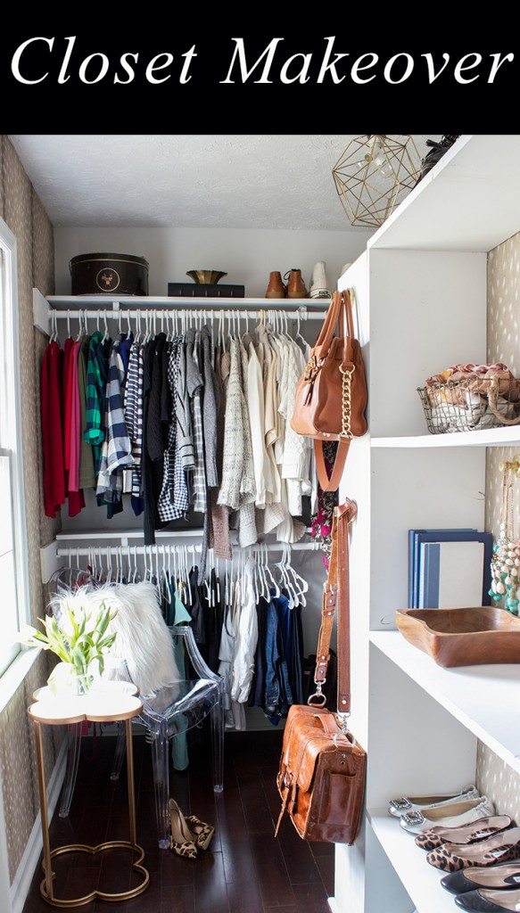 Closet Makeover Reveal
