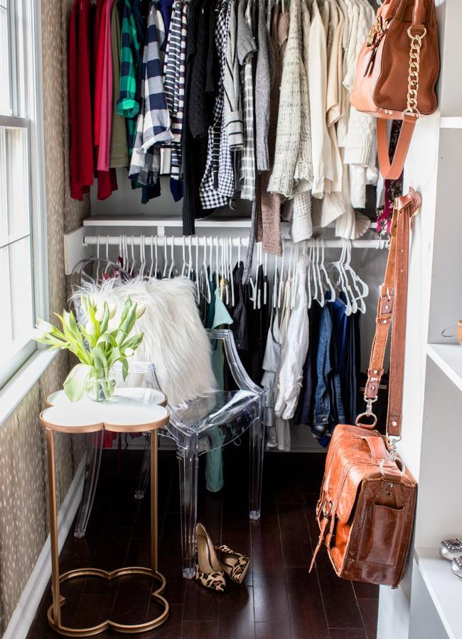 Closet Makeover Reveal