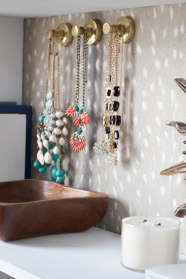 Closet Makeover: Jewelry storage