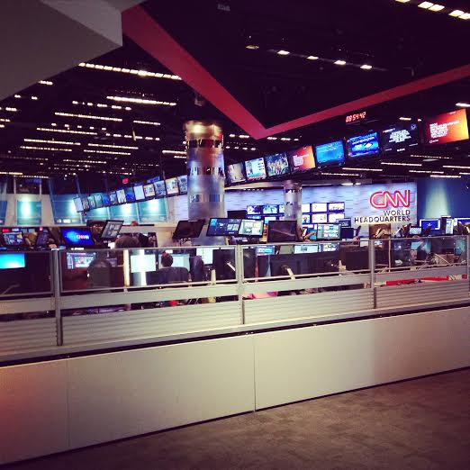 Behind the scenes at CNN Center