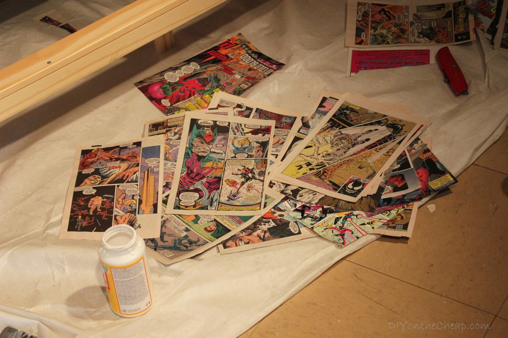 DIY Comic Book Dresser