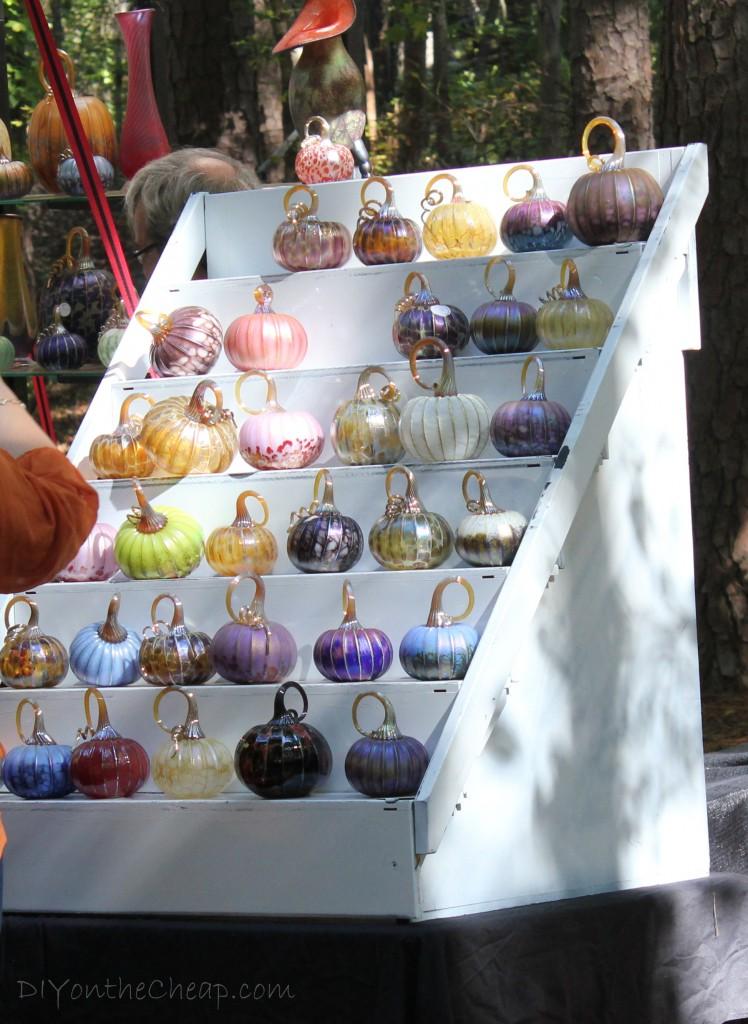 Cute pumpkins at the Country Living Fair