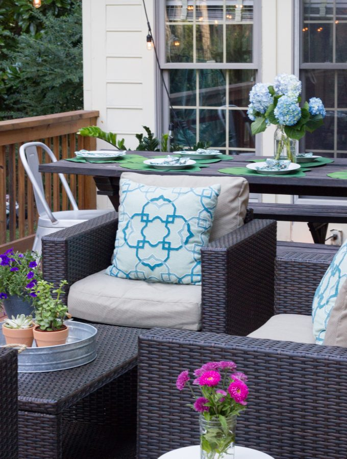 Deck Makeover with Leisure Made Furniture