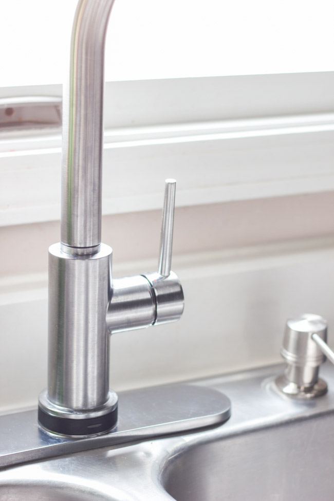 Delta Trinsic Faucet in Arctic Stainless