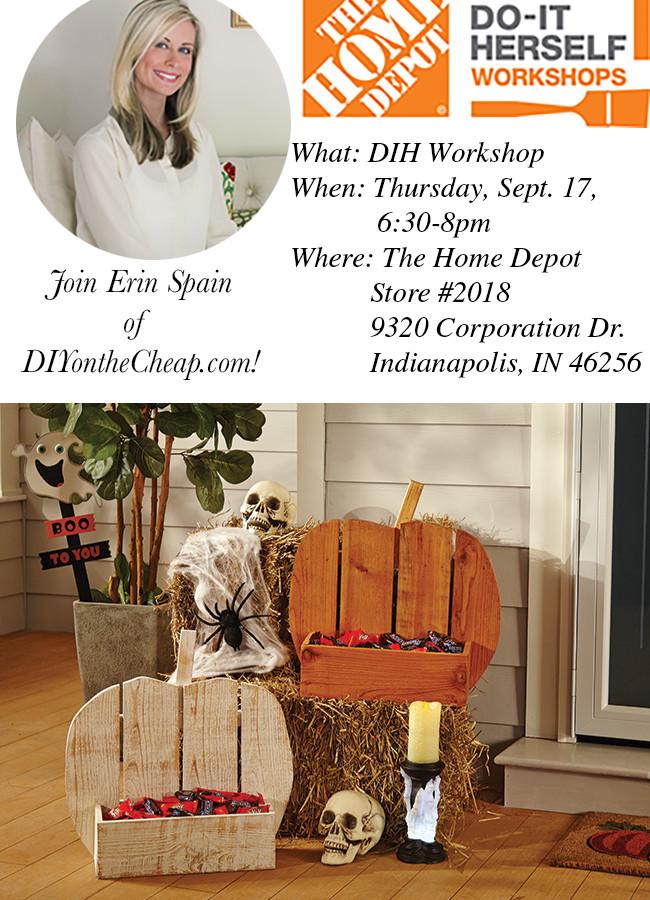 The Home Depot September DIH Workshop
