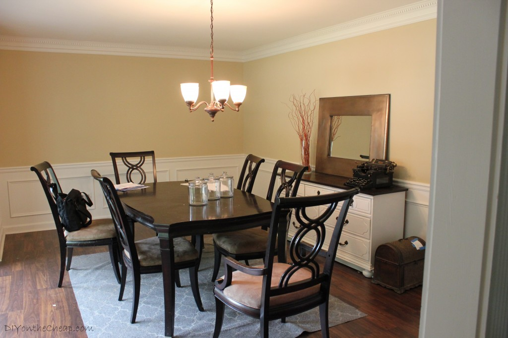 """Dining Room Makeover - """"Before"""""""