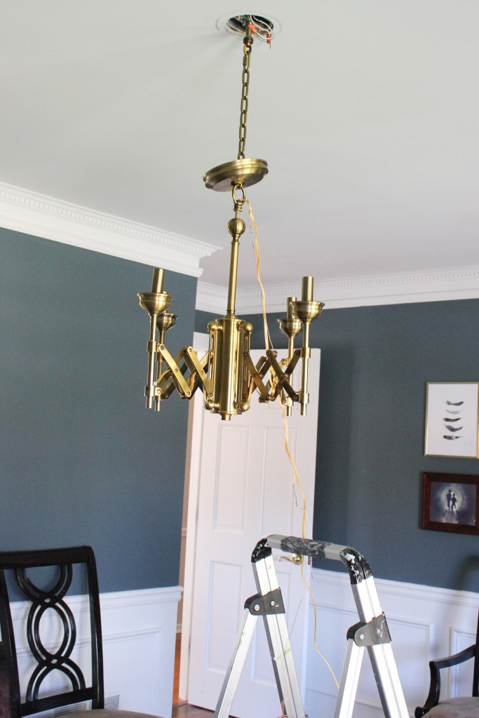 A behind the scenes look at our dining room makeover.