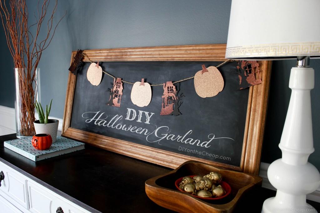 DIY Halloween Garland Tutorial