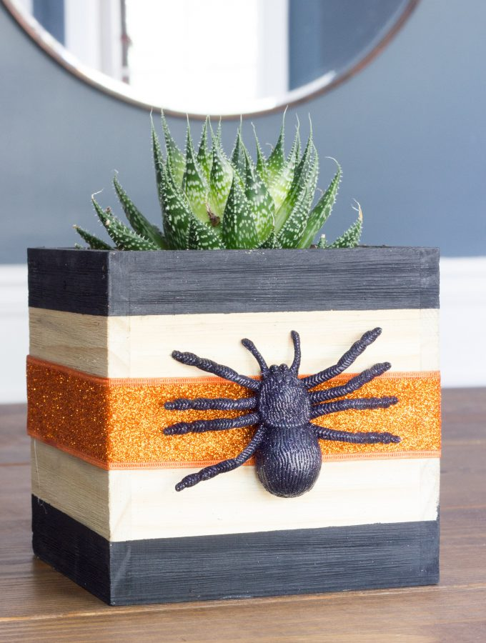 Halloween Planter Box