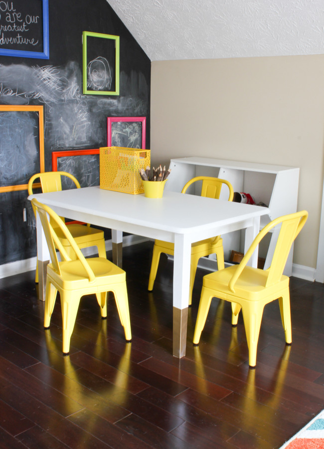 DIY Kids Art Table