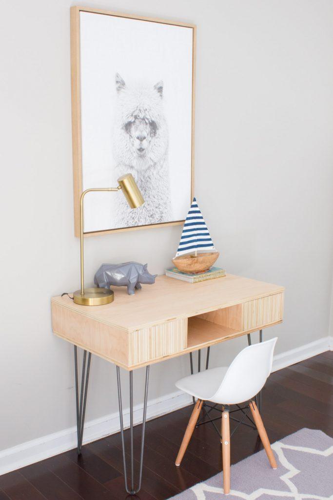Diy Plywood Kid S Desk Erin Spain