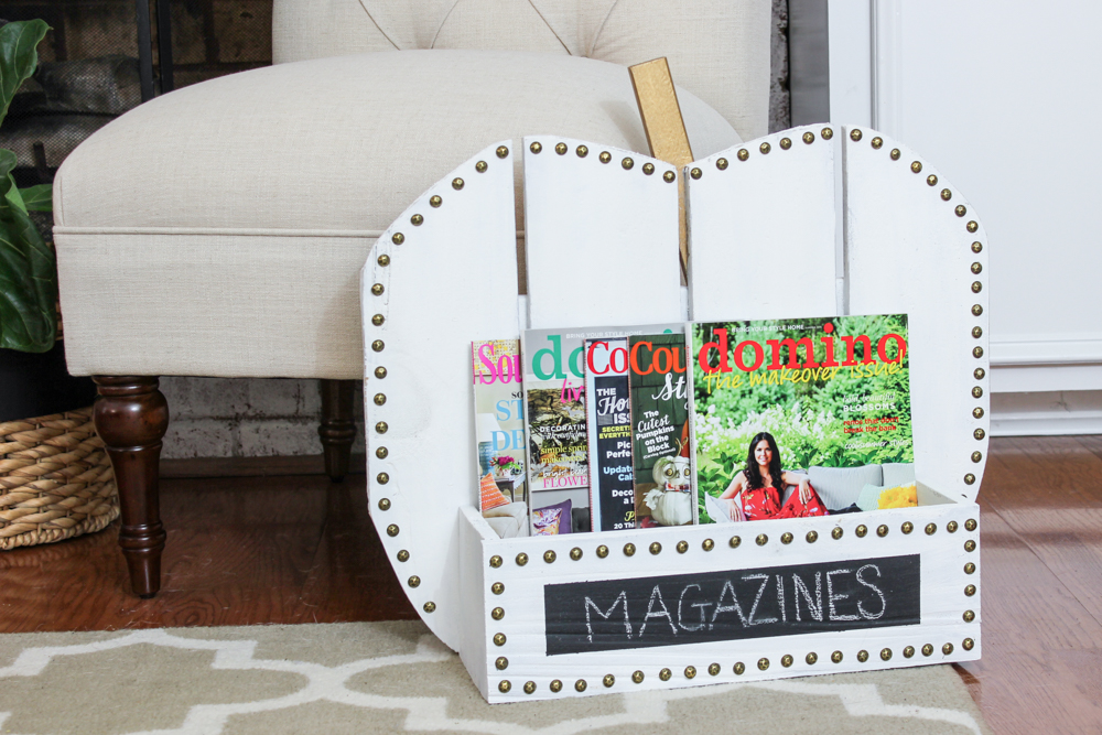 Build a DIY Pumpkin Stand -- there are so many fun uses for it! And so many ways to customize the look.
