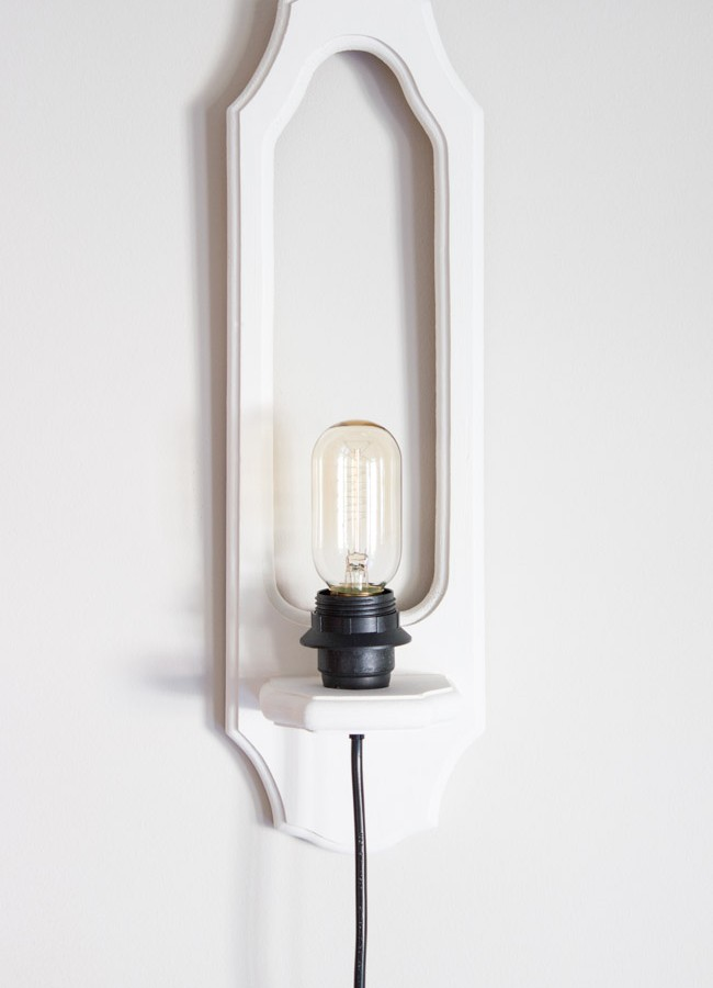 DIY Upcycled Wall Sconces: #SwapItLikeItsHot