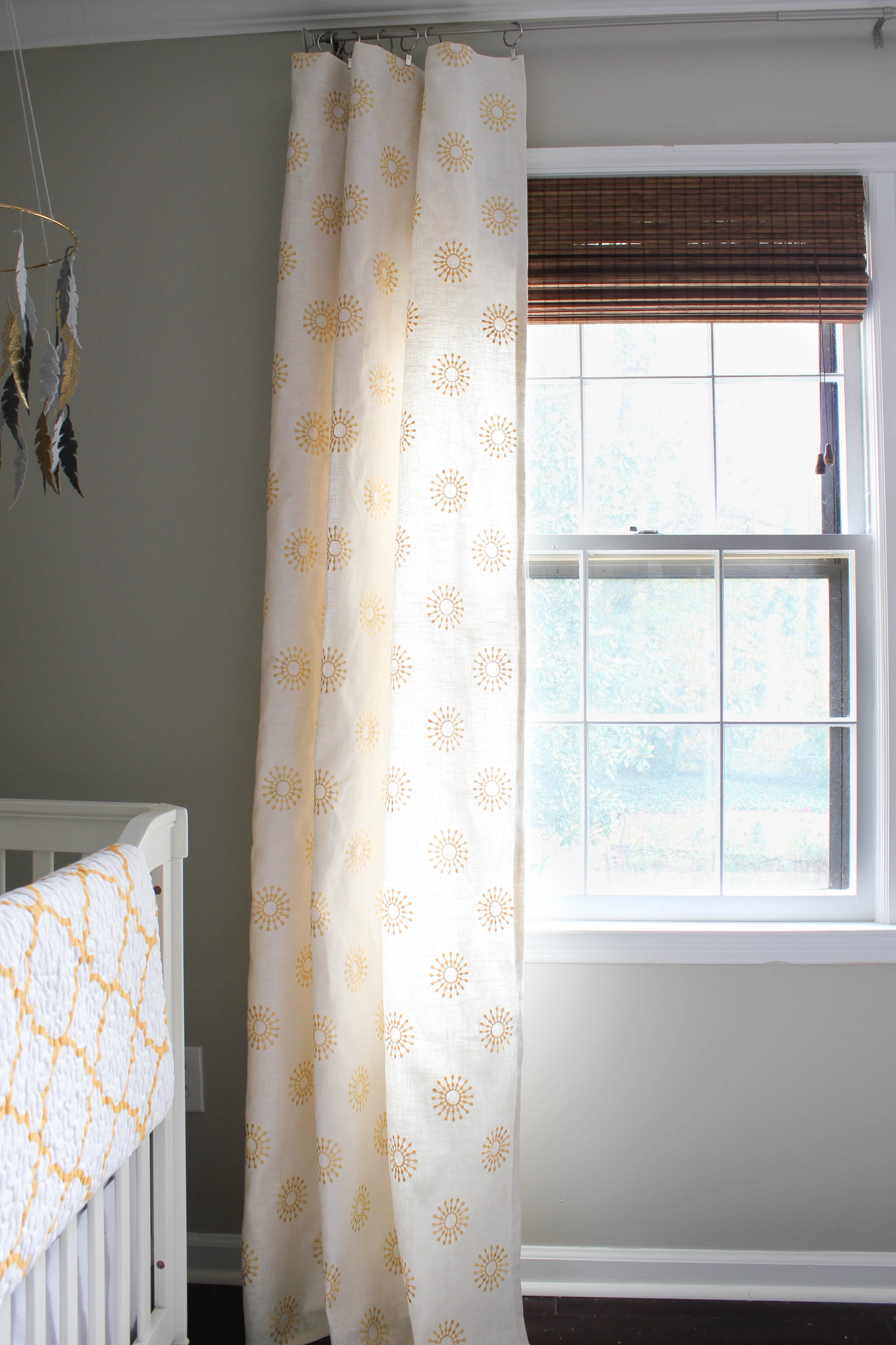 DIY Window Curtains (aka Facing my Sewing Machine Fears) - Erin Spain