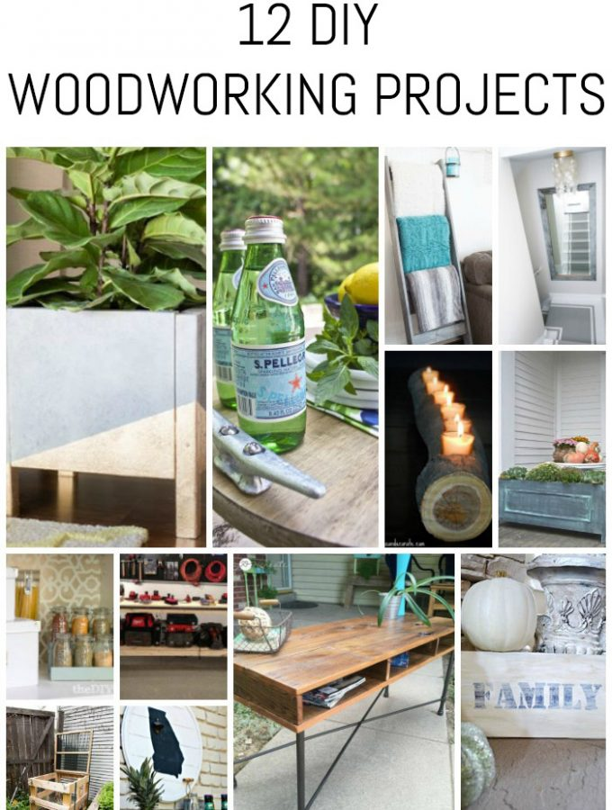 12 DIY Woodworking Projects
