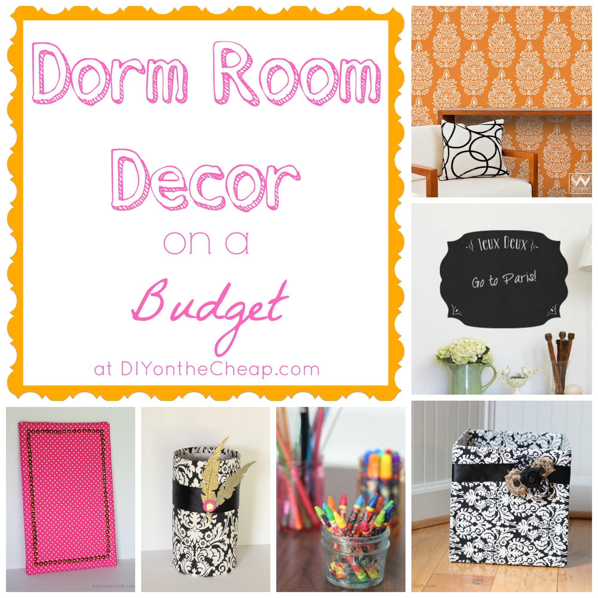 dorm room decor ideas erin spain. Black Bedroom Furniture Sets. Home Design Ideas