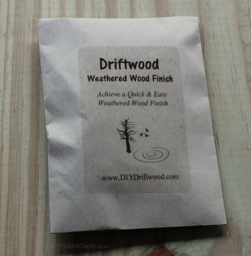 Driftwood Weathered Wood Finish Giveaway!