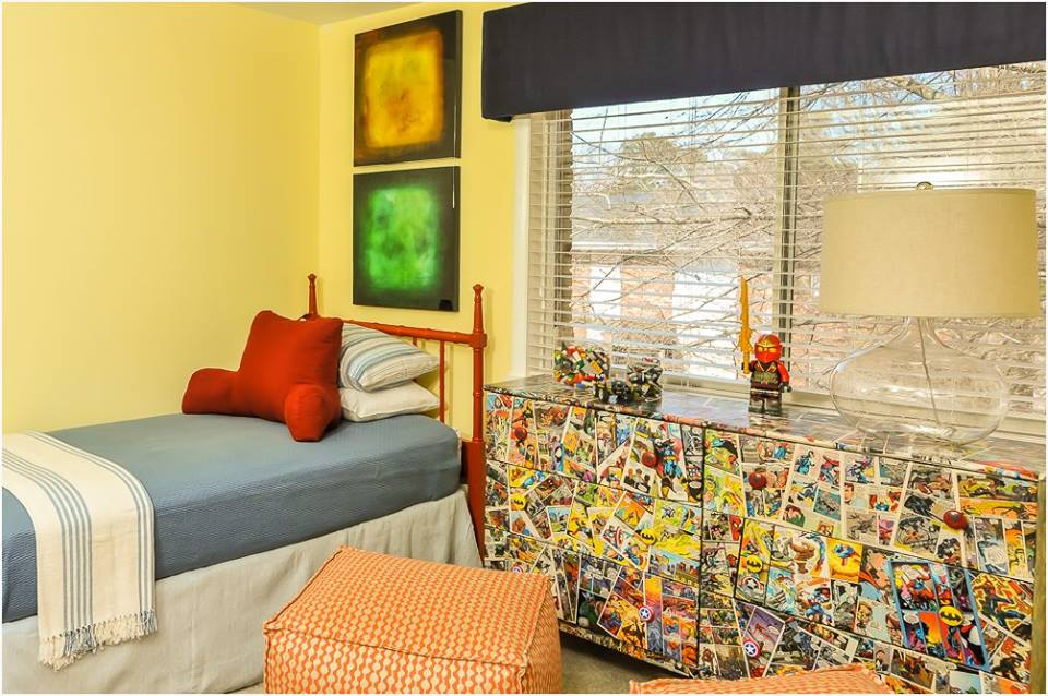 Dwell with Dignity project: boys' bedroom