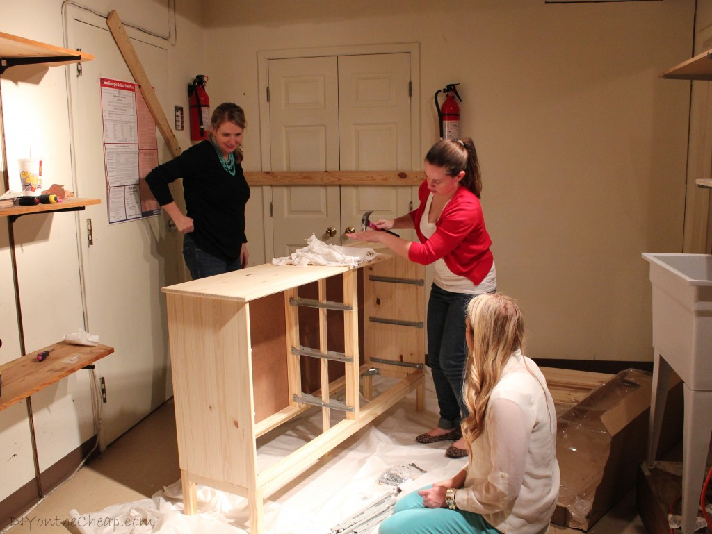 Check out the fun we are having in the studio working on the Dwell with Dignity project!
