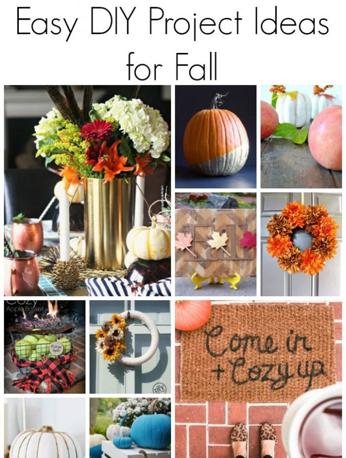 Easy DIY project ideas for fall!
