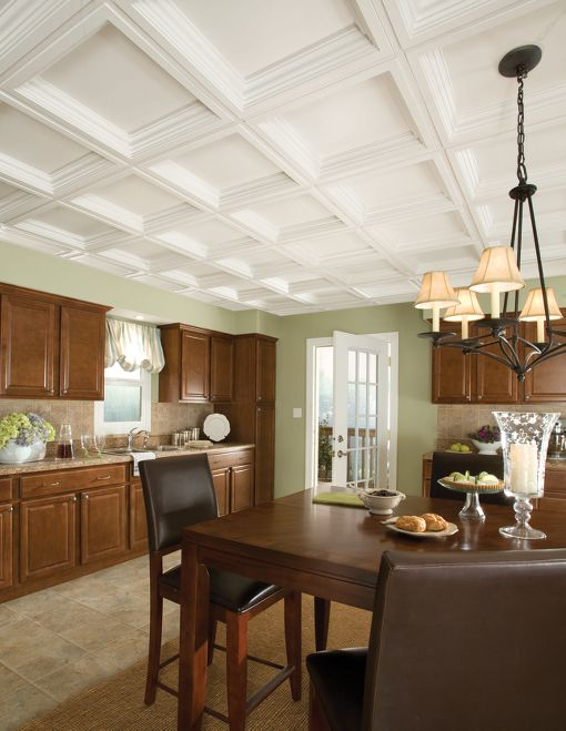 Armstrong Residential Ceilings Easy Elegance Coffer Drop panels