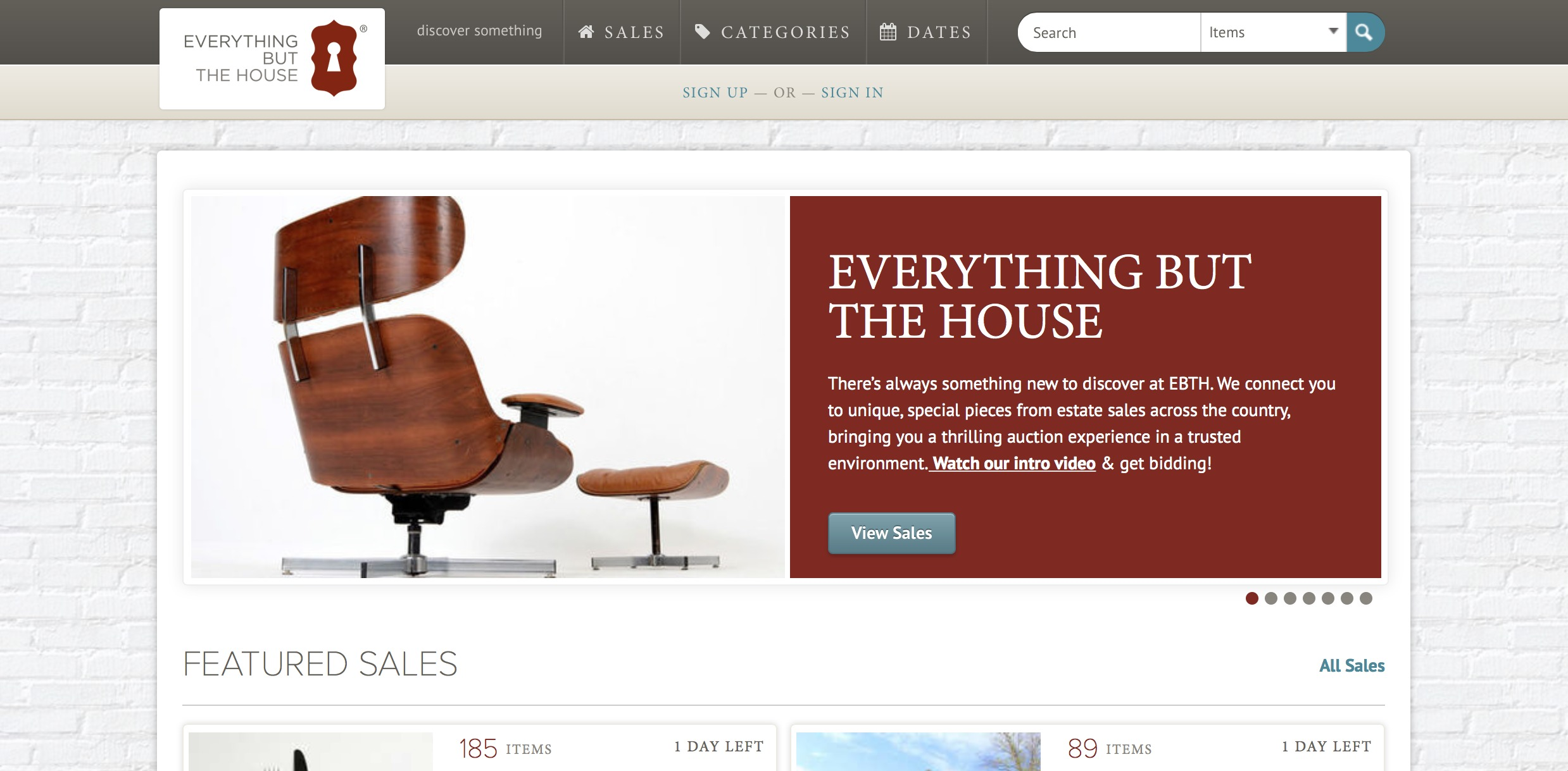 Quot Everything But The House Quot Online Estate Sale Site A